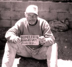 Homeless VETERAN SF