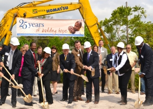 """Coalition for the Homeless"" ""Men's Service Center Groundbreaking"""