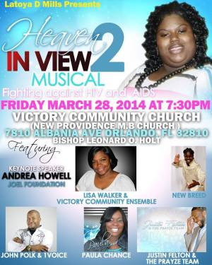 heaven in view flyer